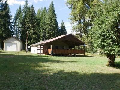 St. Maries Single Family Home For Sale: 9345 Railroad Grade Road