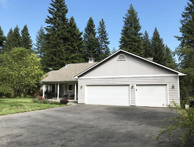 Rathdrum Single Family Home For Sale: 20066 N Gunning Rd