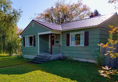 Coeur D'alene Single Family Home For Sale: 1002 E Montana