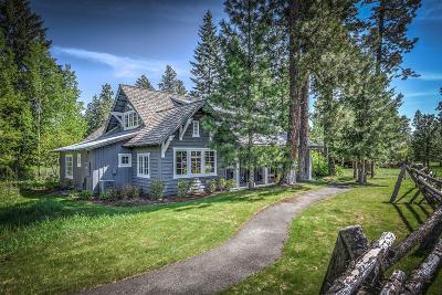 Harrison Single Family Home For Sale: 7182 S Gozzer Rd