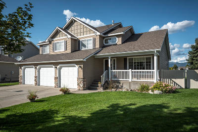 Post Falls Single Family Home For Sale: 1295 W Palouse Dr