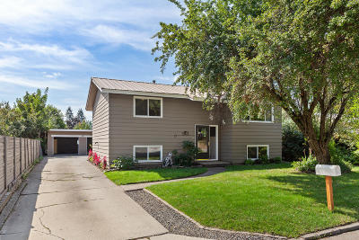 Coeur D'alene Single Family Home For Sale: 1516 E Harrison Ave