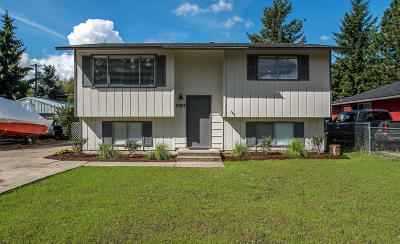 Coeur D'alene Single Family Home For Sale: 2807 N Howard St