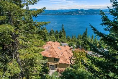 Coeur D'alene Single Family Home For Sale: 307 W Harbor View Dr