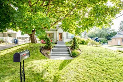 Coeur D'alene Single Family Home For Sale: 1202 N C St