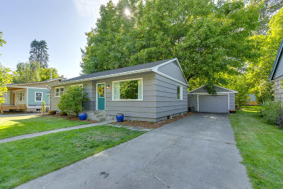 Coeur D'alene Single Family Home For Sale: 401 N 17th St