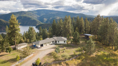 Coeur D'alene Single Family Home For Sale: 7630 E Highview Dr