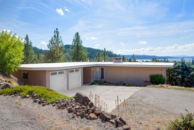 Coeur D'alene Single Family Home For Sale: 2700 E Fernan Hill Rd