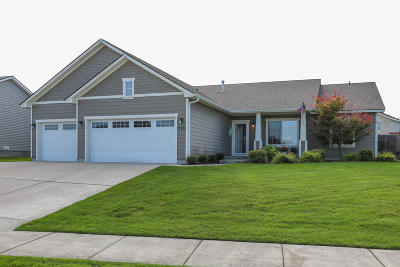 Post Falls Single Family Home For Sale: 378 W Ashworth Ln