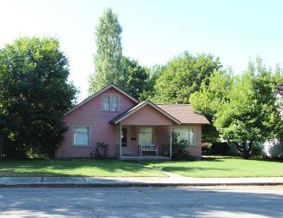 Coeur D'alene Single Family Home For Sale: 1124 E Montana Ave