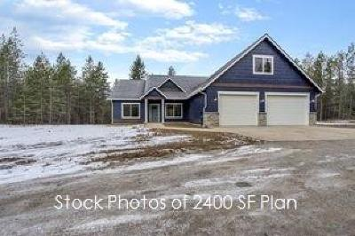 Athol Single Family Home For Sale: 28133 N Weir Rd