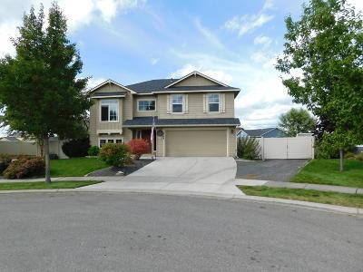 Post Falls Single Family Home For Sale: 1709 Umpqua Ct