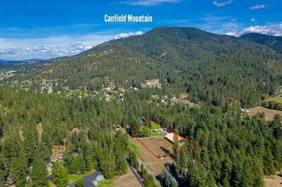 Coeur D'alene Single Family Home For Sale: 2898 E Nettleton Gulch Rd