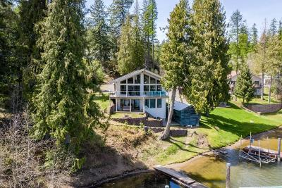 Coeur D'alene Single Family Home For Sale: 18240 S Woodland Shores Dr