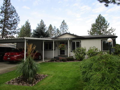 Coeur D'alene Mobile/Manufactured For Sale: 3158 N Chelsee Way