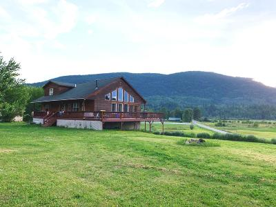 Bonners Ferry Single Family Home For Sale: 86 Lions Den Rd