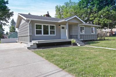 Coeur D'alene Single Family Home For Sale: 706 E Locust Ave