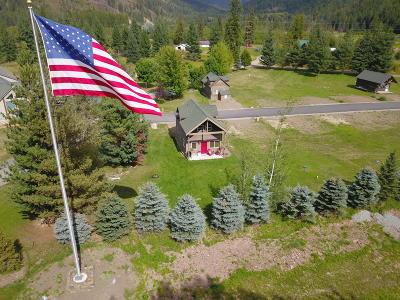 Clark Fork Single Family Home For Sale: 2 Elk Horn Dr.