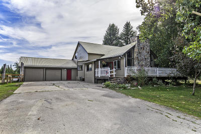 Sandpoint Single Family Home For Sale: 190 Hidden Valley Rd