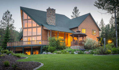 Shoshone County Single Family Home For Sale: 461 Paradise Lane