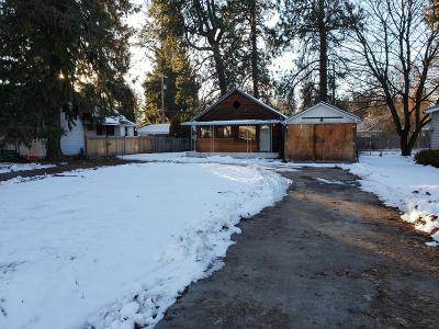 Coeur D'alene Single Family Home For Sale: 1015 N 3rd St