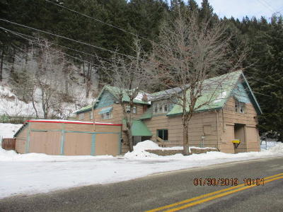 Shoshone County Single Family Home For Sale: 3643 Burke Rd.
