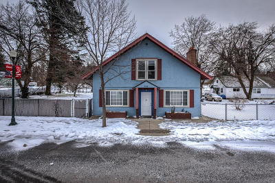 Rathdrum Single Family Home For Sale: 7950 W Main St.