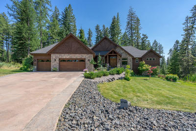 Coeur D'alene Single Family Home For Sale: 3742 W Cielo View Ct