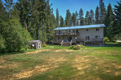Priest Lake Single Family Home For Sale: 14 Linda Ln