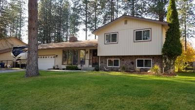 Coeur D'alene Single Family Home For Sale: 3419 W Pine Hill Dr