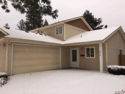 Coeur D'alene Condo/Townhouse For Sale: 314 E Knotty Pine Ln