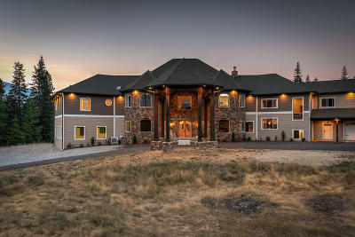 Coeur D'alene, Dalton Gardens Single Family Home For Sale: 886 S Wolf Lodge Creek Rd