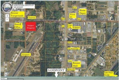 Sandpoint Single Family Home For Sale: 405 Schweitzer Cutoff Rd