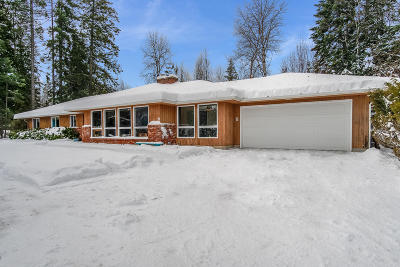 Sandpoint Single Family Home For Sale: 178 Weston Rd