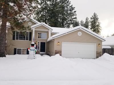 Hauser Lake, Post Falls Single Family Home For Sale: 5763 E Steamboat Bnd