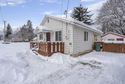 Coeur D'alene Single Family Home For Sale: 1135 E Gilbert Ave