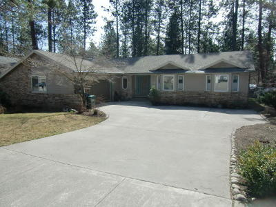 Coeur D'alene Single Family Home For Sale: 3874 N Player Dr