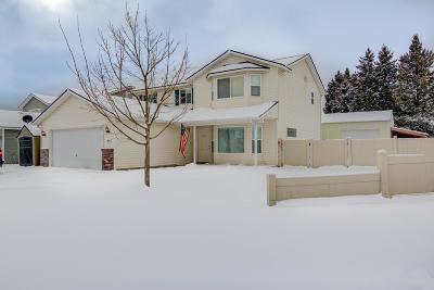 Hauser Lake, Post Falls Single Family Home For Sale: 1573 N Tanzanite St