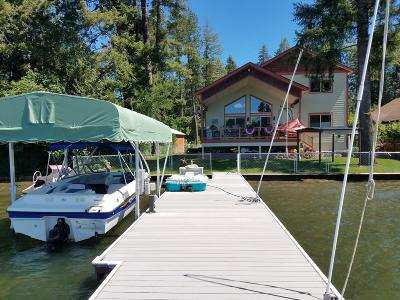 Kootenai County Single Family Home For Sale: 6455 W Harbor Dr