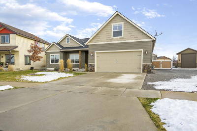 Rathdrum Single Family Home For Sale: 14914 N Pristine Cir