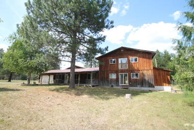 Priest River Single Family Home For Sale: 99 Wakena Ln