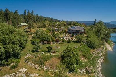 Bonners Ferry Single Family Home For Sale: 6528 N River Dr
