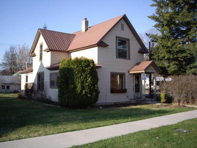Sandpoint Single Family Home For Sale: 307 Church