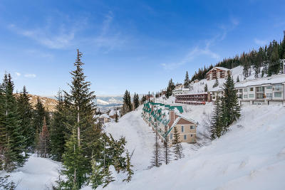 Sandpoint Condo/Townhouse For Sale: 8707 Schweitzer Mtn Rd. #306