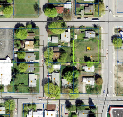 Coeur D'alene Residential Lots & Land For Sale: 1215 N 3rd St