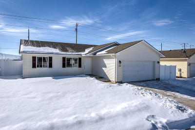 Post Falls Single Family Home For Sale: 2682 N Madeira Loop
