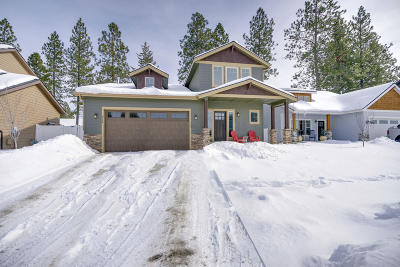 Coeur D'alene Single Family Home For Sale: 6784 N Idlewood Dr