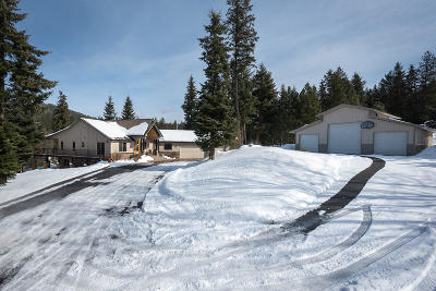 Coeur D'alene Single Family Home For Sale: 2886 E Murphy Rd