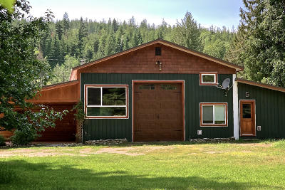 Clark Fork Single Family Home For Sale: 210 Shadow Valley Lane