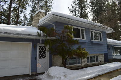 Coeur D'alene, Dalton Gardens Single Family Home For Sale: 3705 N Woods Ln